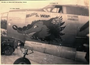 #43-34351 B-26 Willie the WOLF