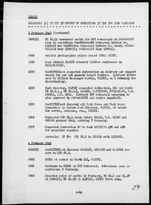 Rep of pre-invasion assault ops against Iwo Jima, Bonin Is 2/16-19/45 › Page 29 - Fold3.com