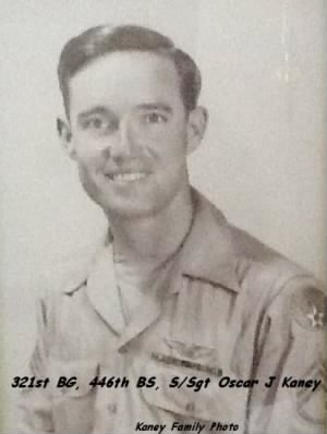 321stBG,446thBS, S/Sgt Oscar Kaney, 51 Combat Missions in the B-25 in the MTO WWII