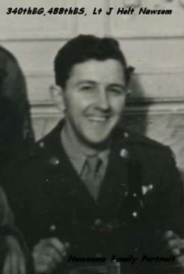 Lt J Holt Newsom (Changes to Newsome after the War.)