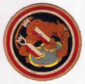 "This is the ""489th Bomb Squad Emblem"" of the 340th Bomb Group."
