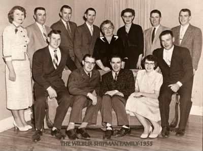 The Wilbur Shipman Family (Except Kenneth who had already passed away) - Fold3.com