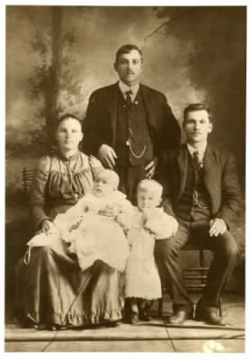 William and Mary Kushner,  Portage coalminer family