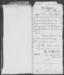 Letters Received by Commission Branch, 1874-1894