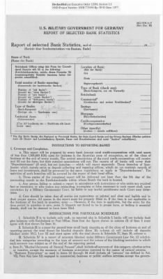 American Zone: Report of Selected Bank Statistics, March 1946 › Page 14 - Fold3.com