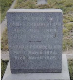 James & Sarah Chamberlain Headstone.jpg