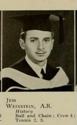 1937 Graduation Photo of 310th BG, 379th BS, Jess Weinstein U of Calif.