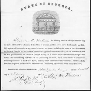 A M Wallace Feb 1861 Confed Oath of Allegiance.jpg