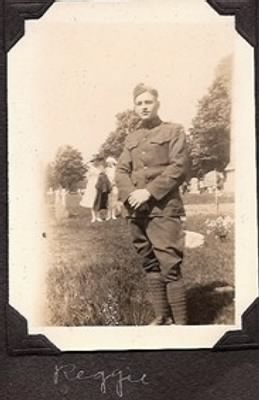 Private Reginald J Busch