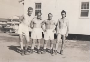 Going for a swim at Keesler Airfield 1942