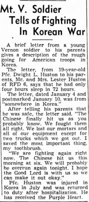 Mt. Vernon, Illinois, soldier wounded in Korea - Fold3.com