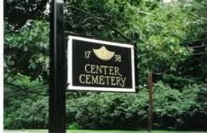 Center Cemetery Mass