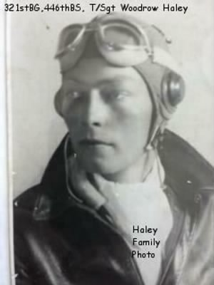 Woodrow Haley suited up for COMBAT during WWII in the B-25 in the MTO