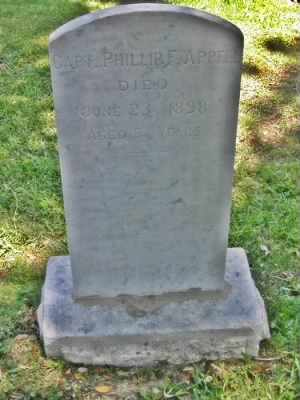 Capt Phillip Francis Appell CSN Headstone