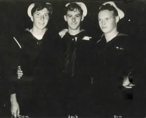 Don Eppich and Navy buds