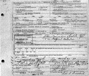 Wm Wayne Wallace 1970 TX Death Cert.JPG