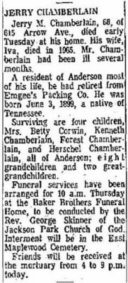 Jerry Madison Chamberlain 1967 Obit.JPG