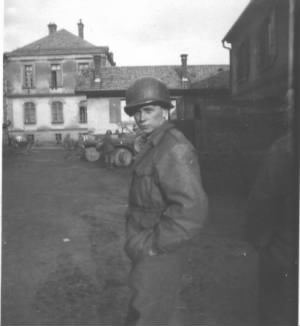 Lowell in Army in Europe WWll