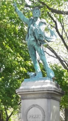 Statue of Commodore Oliver Hazard Perry