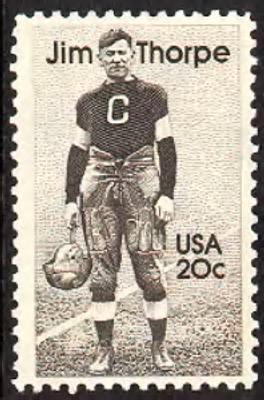 Jim Thorpe Stamp - Fold3.com