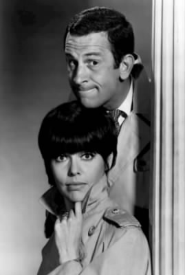 Don Adams and Barbara Feldon, 1965