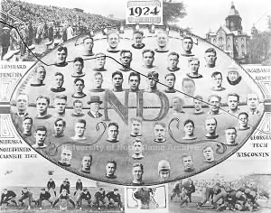 1924 Notre Dame Fighting Irish