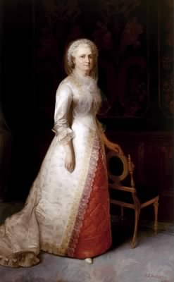 Martha Dandridge Custis Washington