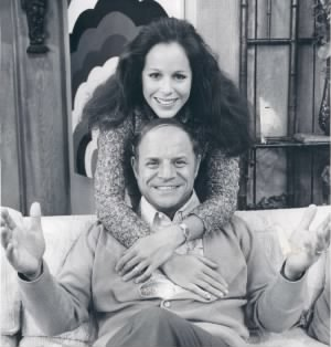 Don Rickles and Louise Sorel