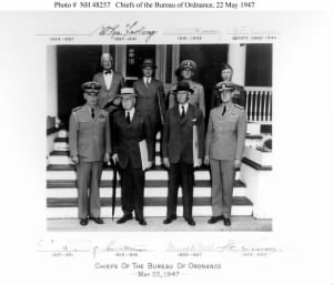 Chiefs of the Bureau of Ordnance, 22 May 1947