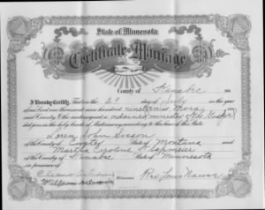 Loren and Martha Klapmeier Sisson Marriage Record.jpeg