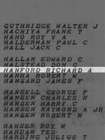 Hanford, Richard A