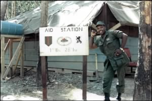 Quan Loi Aid Station, 1st Battalion, 28th Infantry Regiment, 1st Infantry Division, 1968