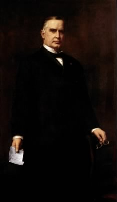The official Presidential portrait of William McKinley