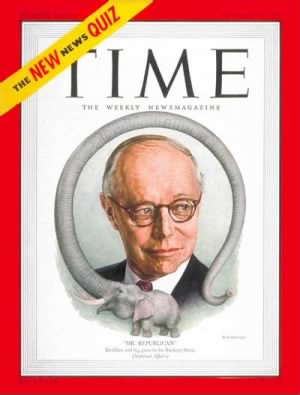 Robert A. Taft Time Magazine 1950