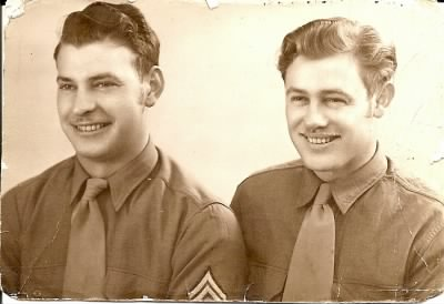 daddy and WWII Buddy.jpg - Fold3.com