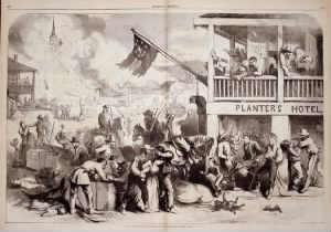 Thomas Nast Illustration of Quantrill's Raid on a Western Town.jpg