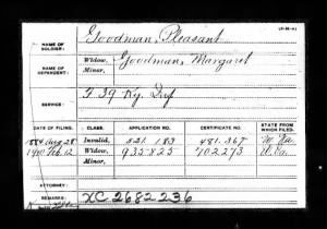 Pleasant Goodman and Margaret Goodman Civil War Pension.jpg