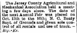 Ninian C Beaty 1891 Supt of Grounds for Annual Fair.JPG