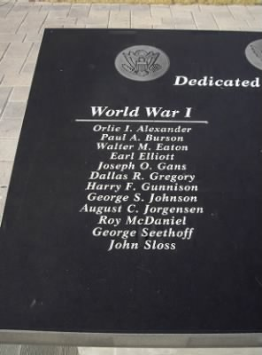 Jefferson County War Memorial Friendship Park WWI names.jpg