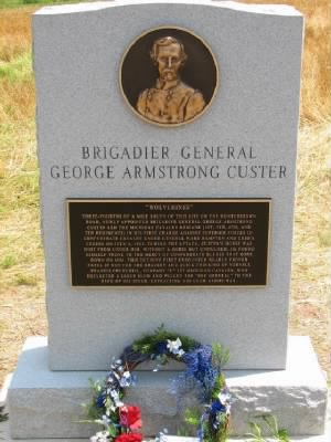 Hunterstown, Pennsylvania. Custer Memorial.jpg