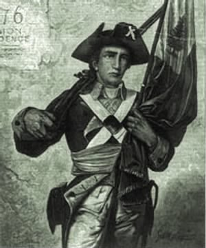 Minuteman with musket and flag.jpg