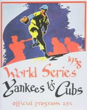 1938 WS  Program Yankees.jpg