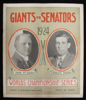 1924 Giants Senators Program1.JPG