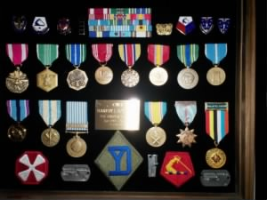 Includes Harvey's Military Awards Display 010.JPG