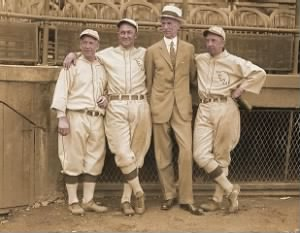 Kid Gleason, Ty Cobb, Connie Mack, Eddie Collins.jpg