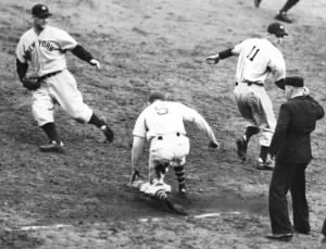 Last Out Of The 1937 World Series - Gehrig, Mancuso & Gomez ..jpg