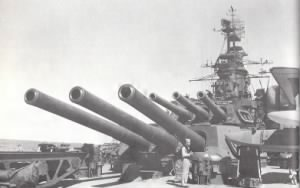 U.S.S. California (BB-44) 14 in. gun turrets.jpg