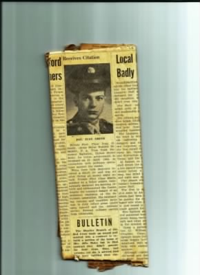 PFC Ivan G Smith, Newspaper article (2).jpg