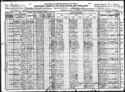 1920 US Census - John W. Dunkle family