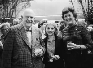 Chefs and cookcook writers James Beard and Julia Child with food editor Judith Jones.jpg